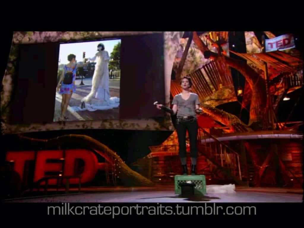 Amanda Palmer's TED talk