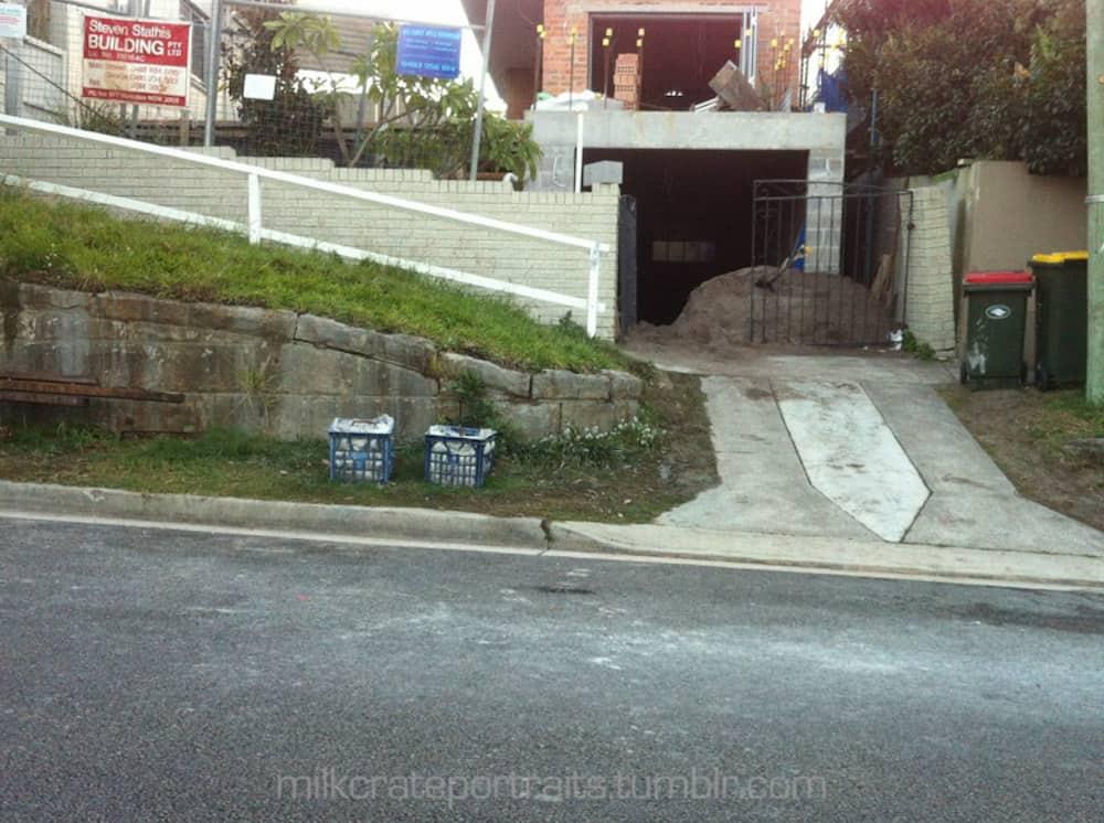 Driveway crates