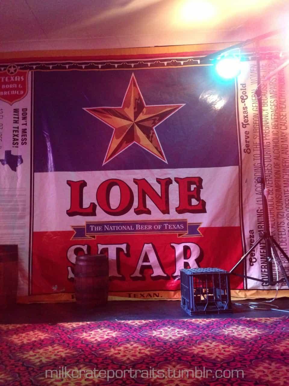 Lone Star crate