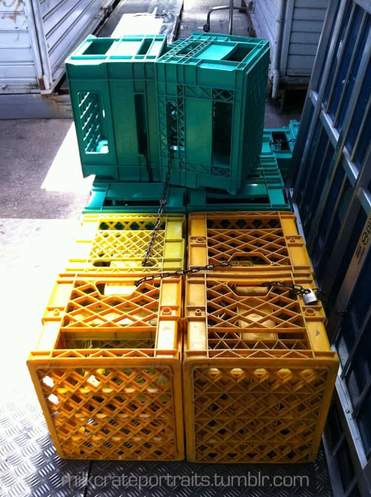 Italian crates