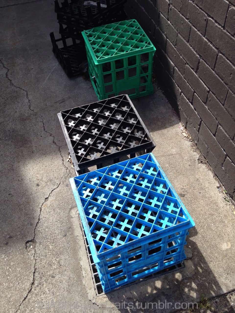 Blue, black & green