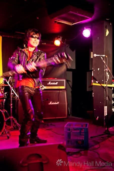 Seji from Guitar Wolf