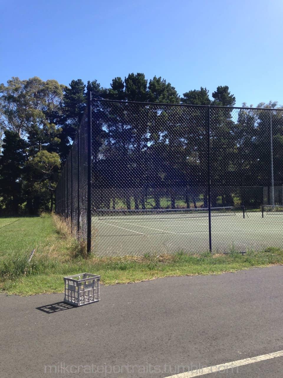 Tennis crate