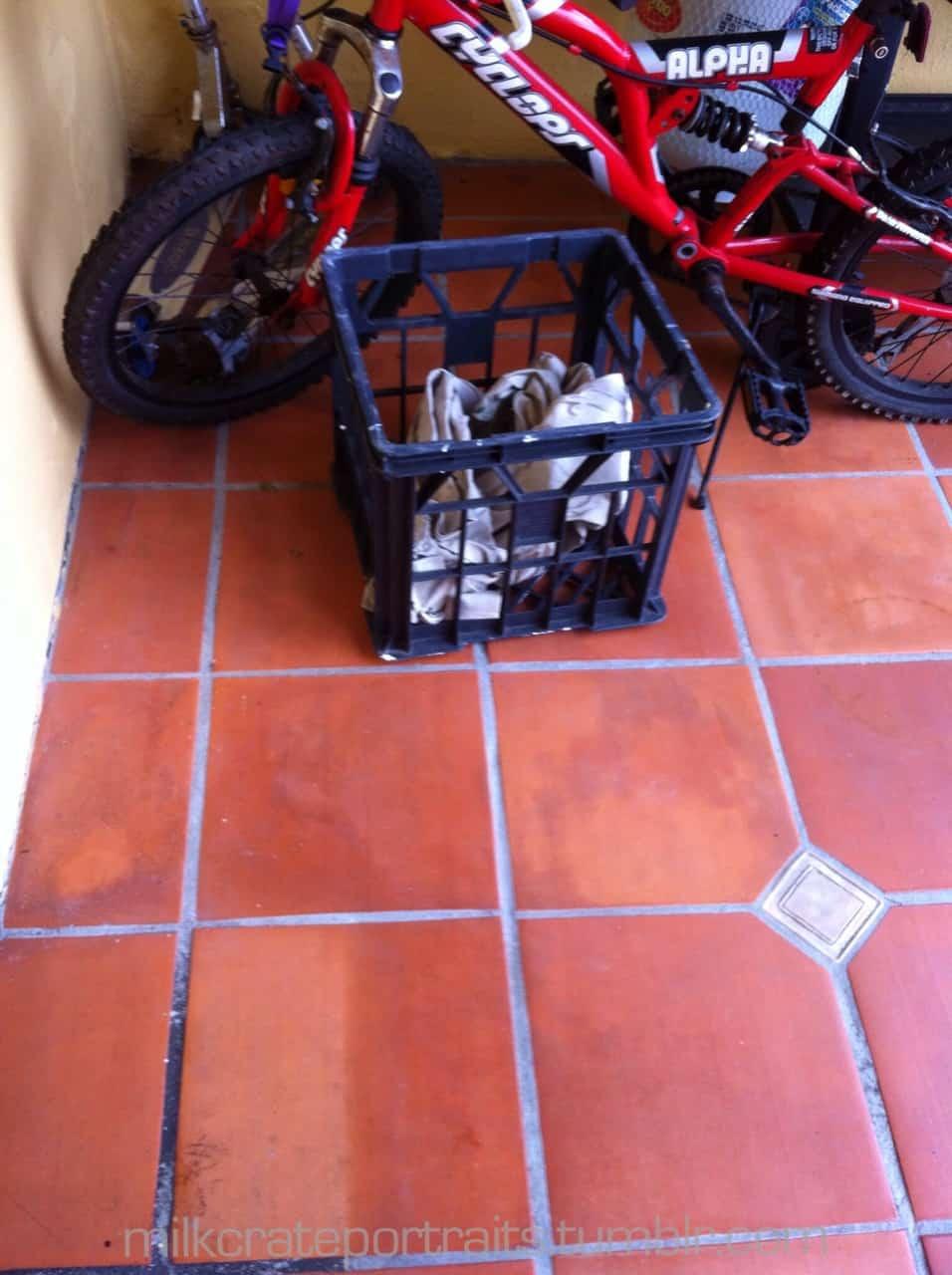 Bike & crate