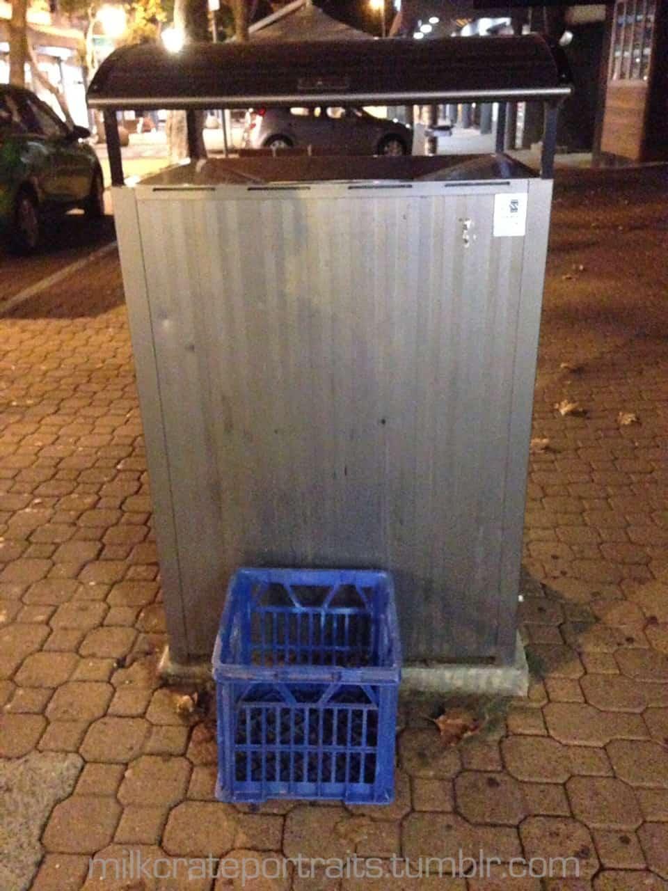 Newcastle milk crate