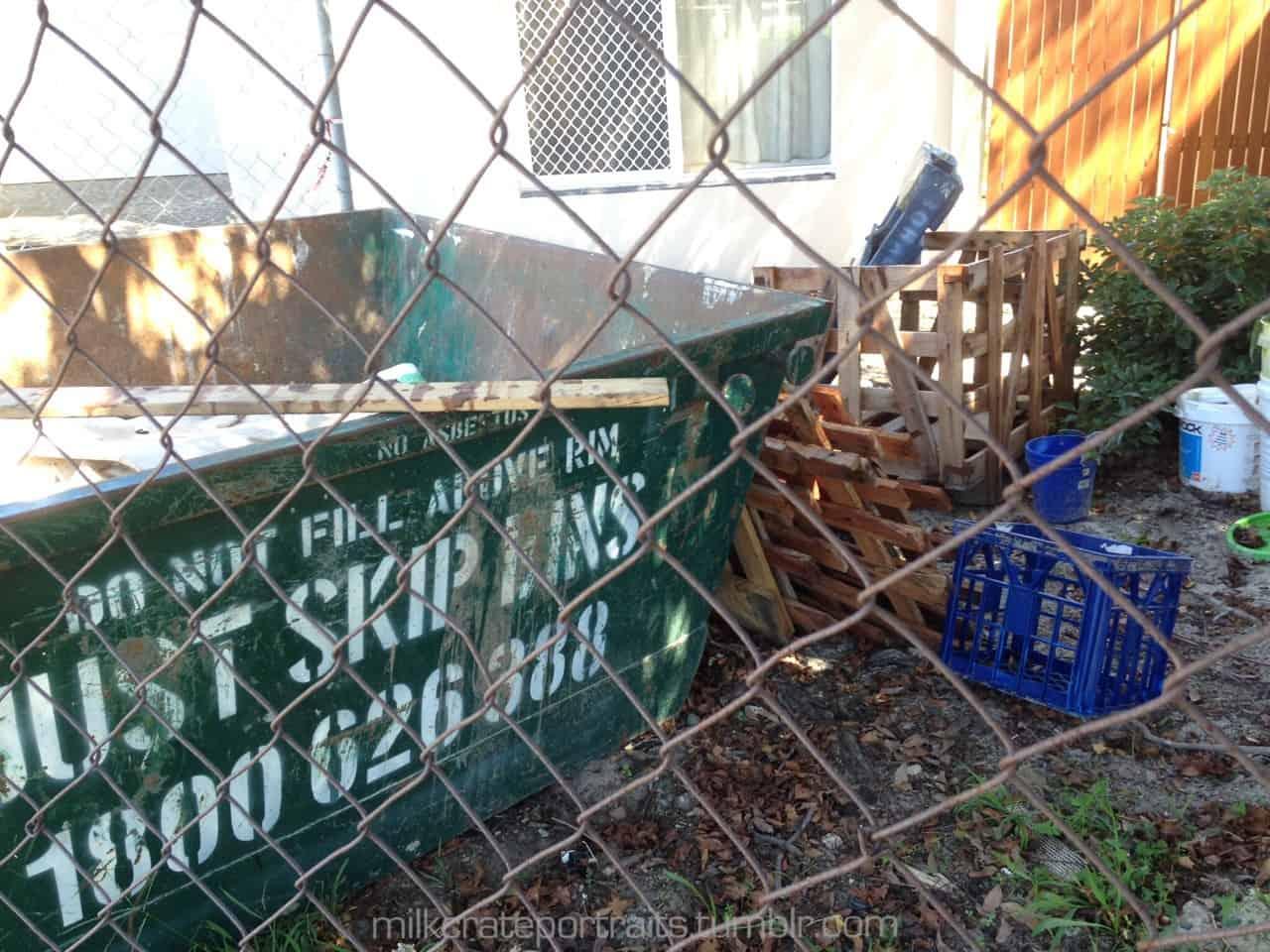 Builders milk crate