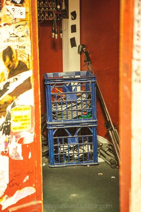 Backstage at the Basement, Sydney