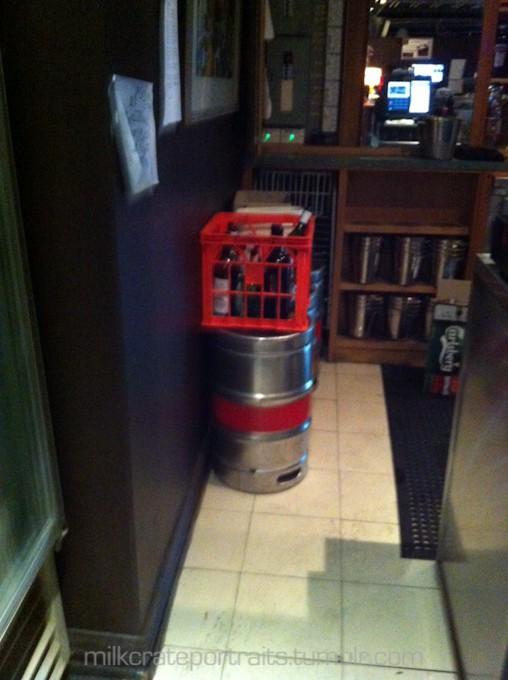 Kitchen milk crates