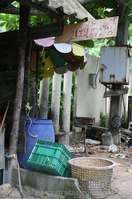 Thai milk crates