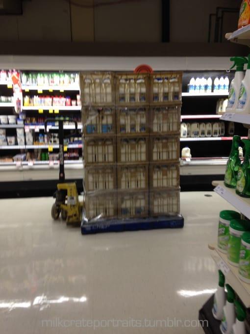 Supermarket stack