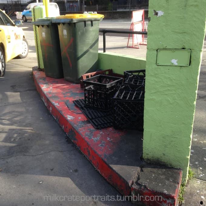 Rubbish crates