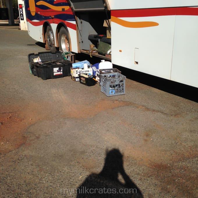 Bus crate