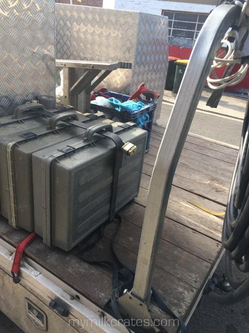 Tradies crate