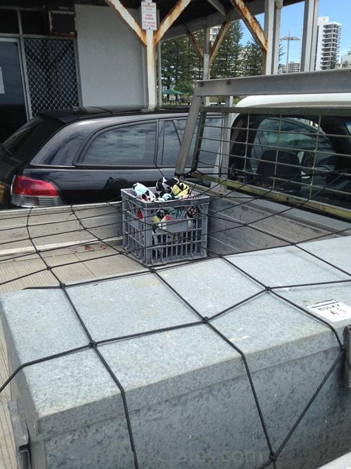 Tradies crates