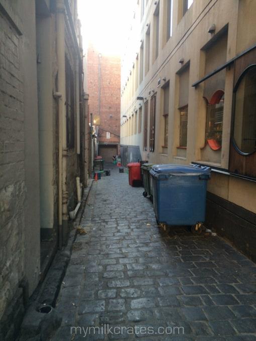 Laneway crates