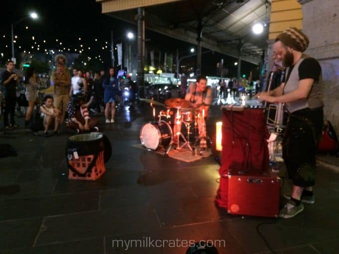 Busking crate