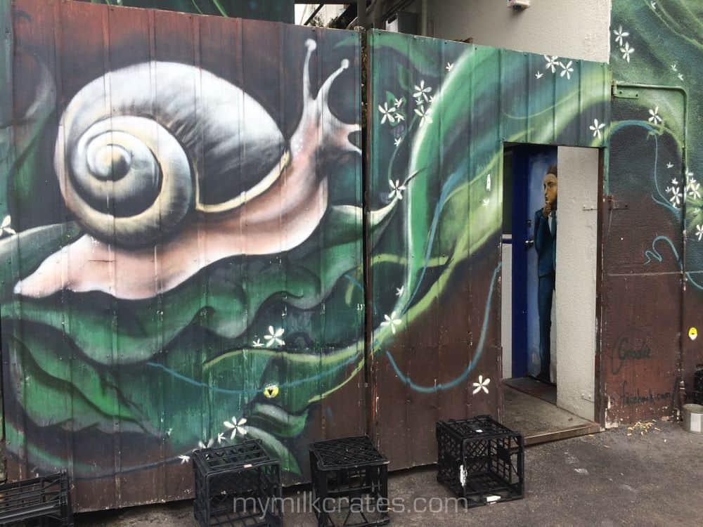 Snail crates