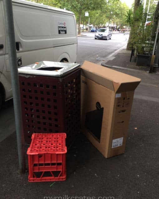 Out with the rubbish