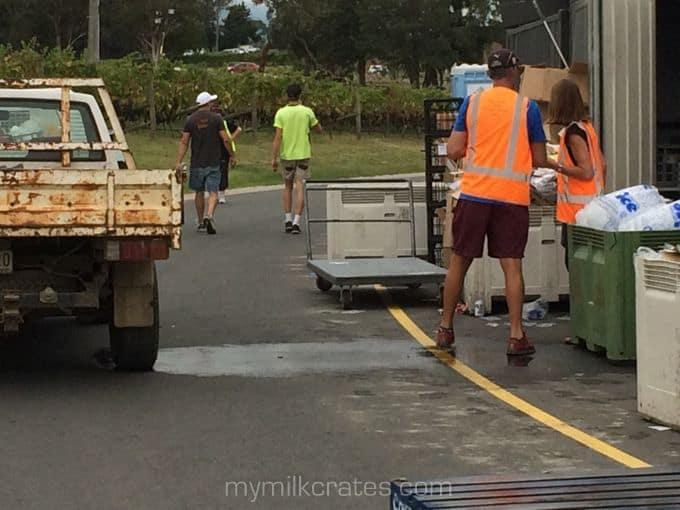 Vineyard crates