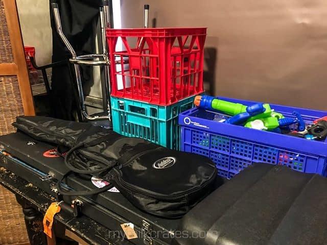 Bandroom crates