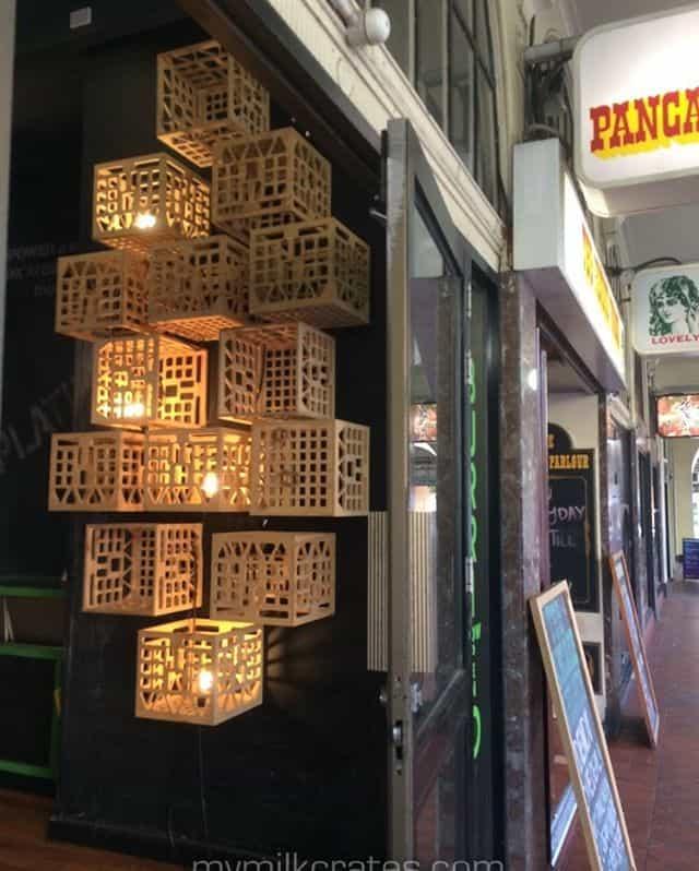 Illuminated crates