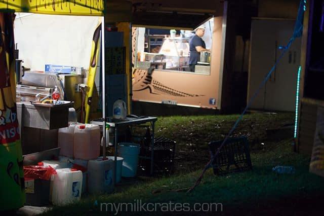Food truck crates