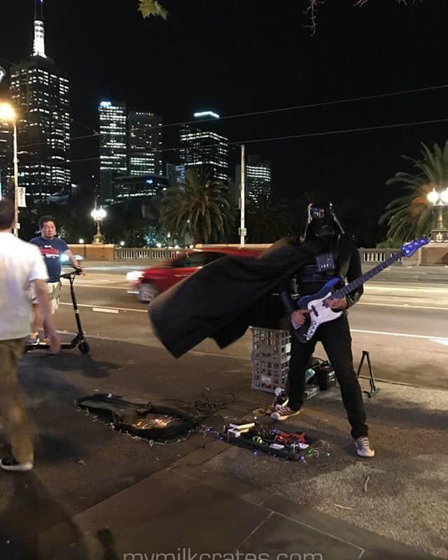 Darth Vader on bass