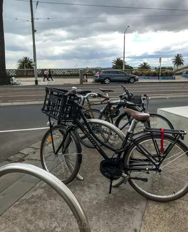 St Kilda Esplanade bike crate