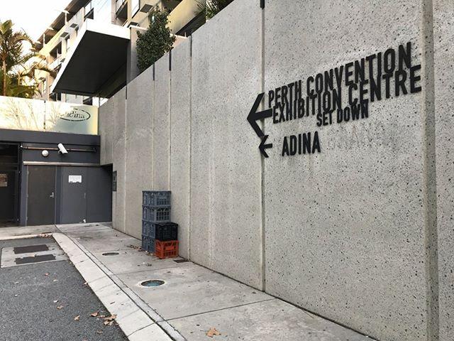 Perth convention centre crate⠀