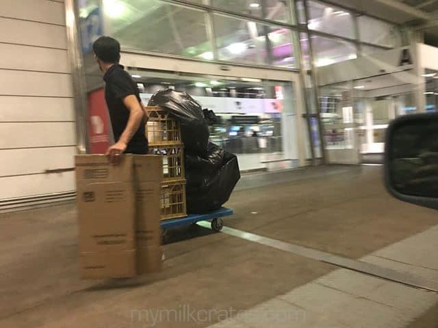 Airport crates