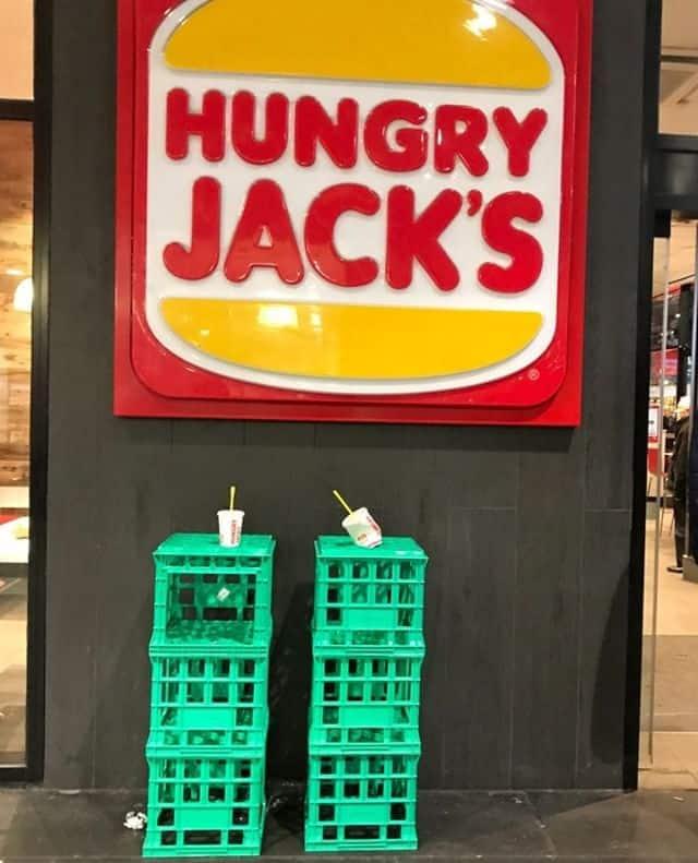  Hungry Jacks drink holders