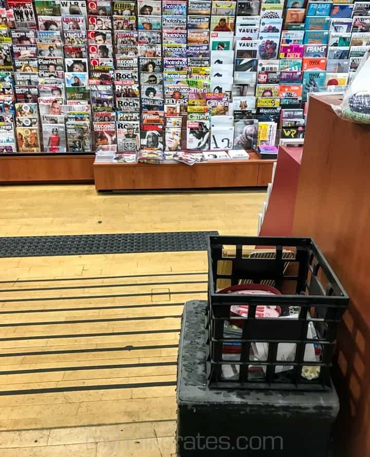 Magazine crate