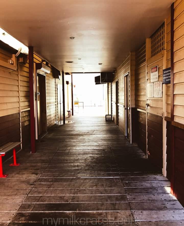 Hallway crate