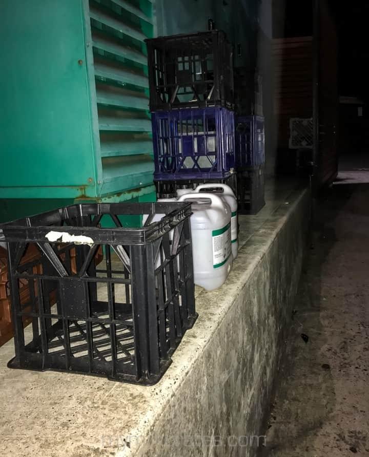 Evening crates