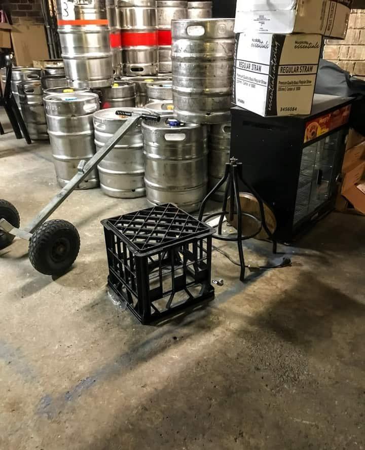 Bar crate